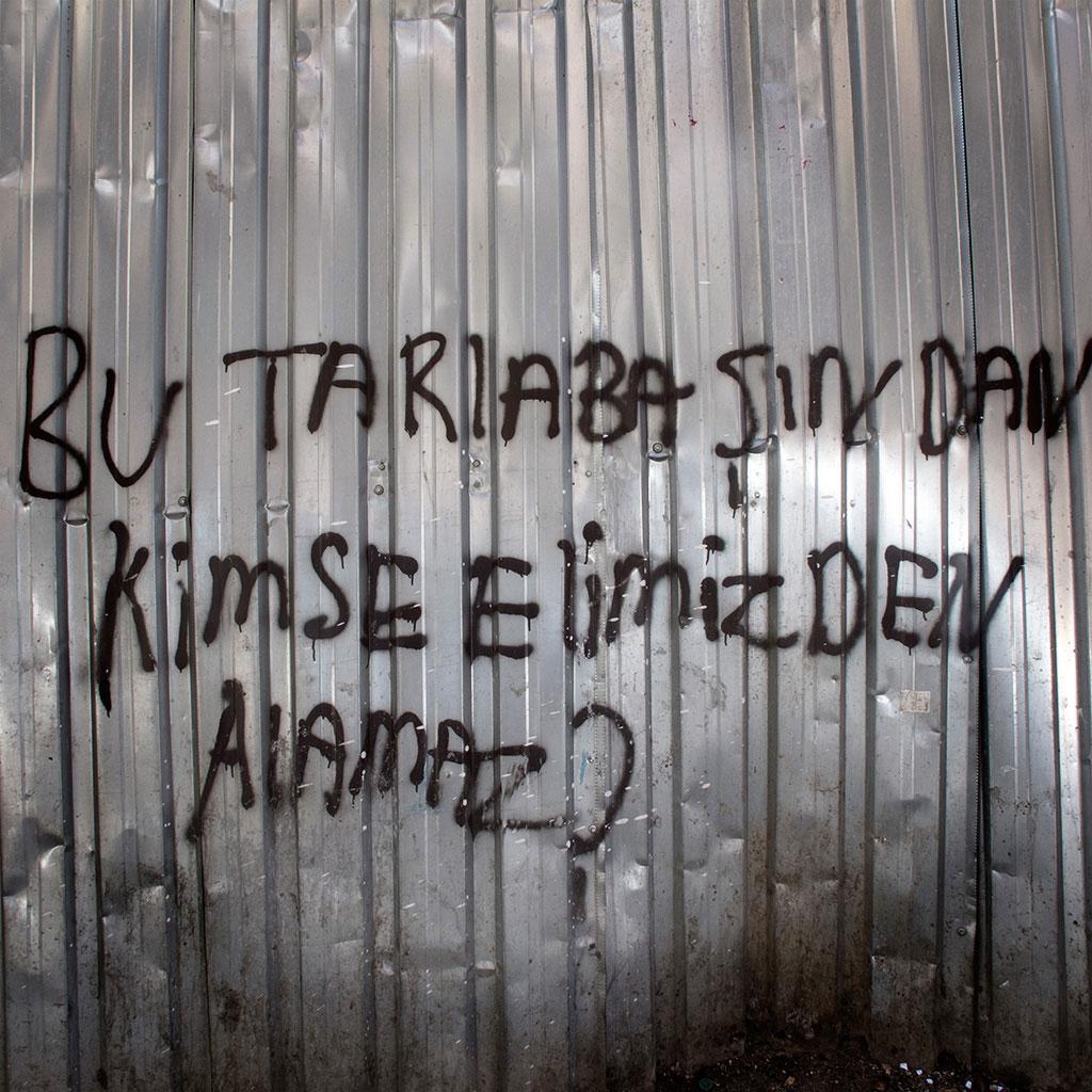 Grafitti Personne ne pourra, 2014